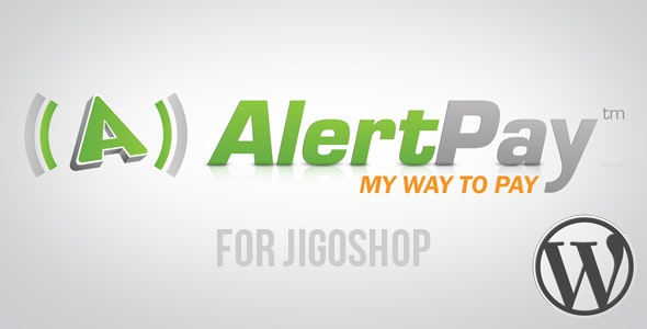 AlertPay Gateway for Jigoshop - CodeCanyon Item for Sale