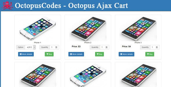 OctopusCodes - Octopus Ajax Cart