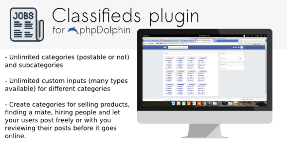 Classifieds plugin for phpDolphin - CodeCanyon Item for Sale