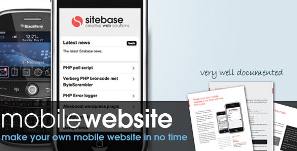 Mobile PHP Scripts from CodeCanyon