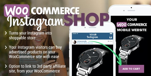 WooCommerce Instagram Shop