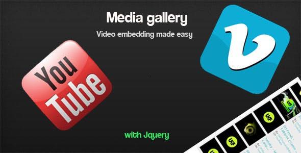 Easy jQuery MediaGallery