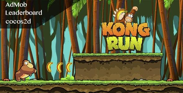 Kong Run - Admob + Leaderboard - CodeCanyon Item for Sale