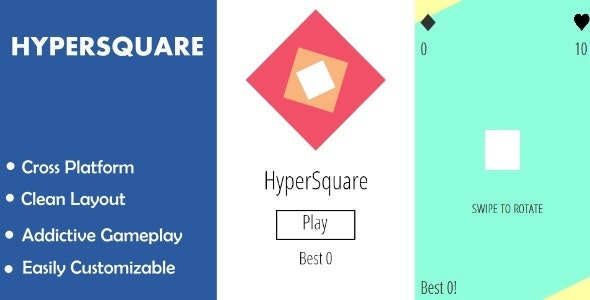HyperSquare - CodeCanyon Item for Sale