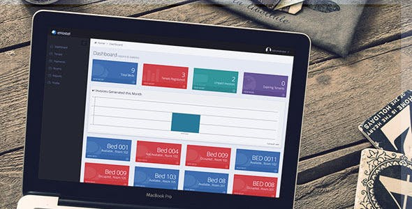 Dorm / eHostel  / Tenant Management  and Billing System - CodeCanyon Item for Sale