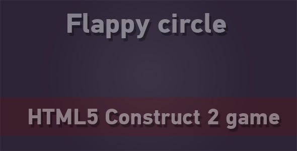 Flappy Circle - HTML5 Mobile Game