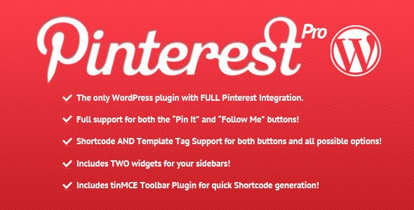 Pinterest Pro for WordPress