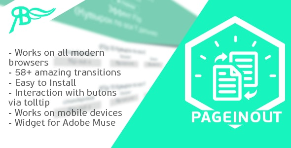 [YV] PageInOut Muse Widget: Animated Pages for Adobe Muse - CodeCanyon Item for Sale
