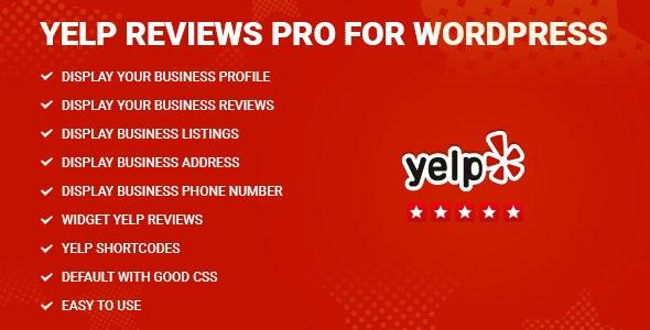 Yelp Reviews Pro for WordPress by NinjaTeam | CodeCanyon