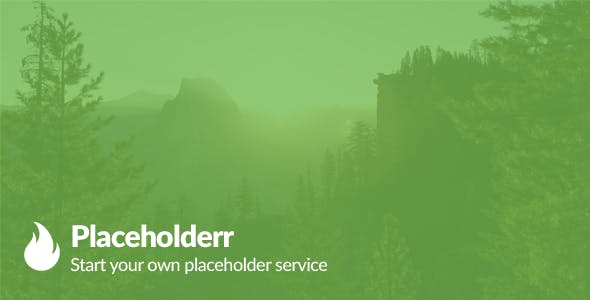 Placeholderr - Create your own placeholding website