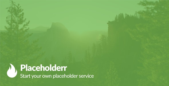 Placeholderr - Create your own placeholding website - CodeCanyon Item for Sale