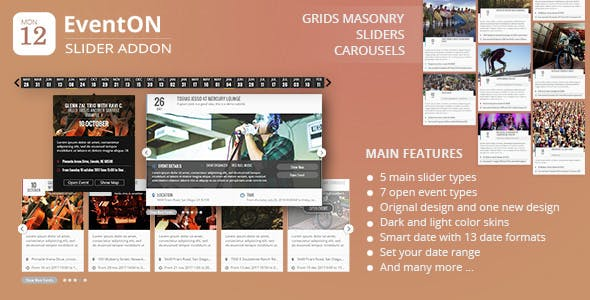 EventOn Slider Addon | Events