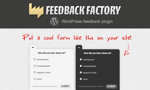 Feedback Factory - CodeCanyon Item for Sale
