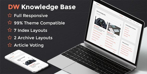DW Knowledge Base Pro - Wordpress Plugin