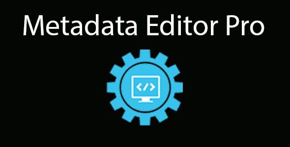 Metadata Editor Pro