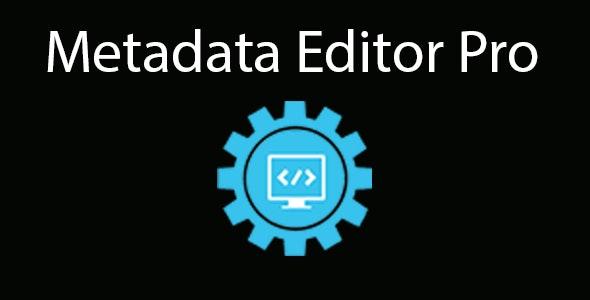 Metadata Editor Pro - CodeCanyon Item for Sale