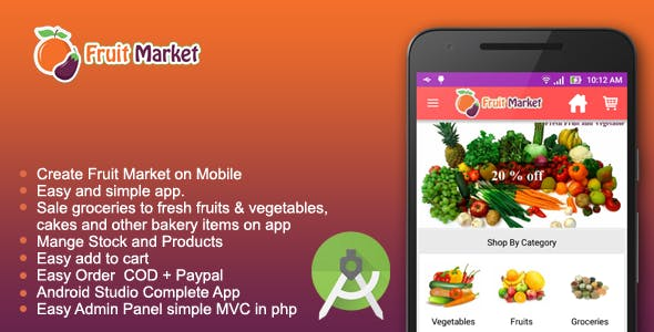 Fruit Market - Local fruit store app