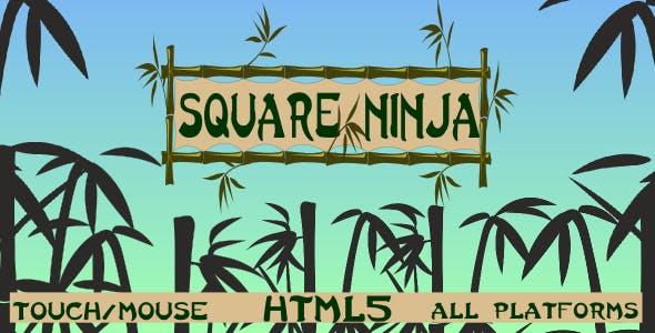 Square Ninja - HTML5 game