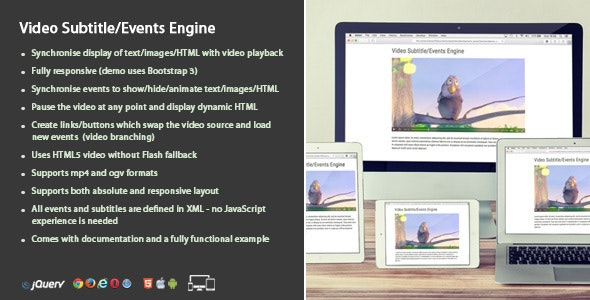 Video Events Engine - CodeCanyon Item for Sale