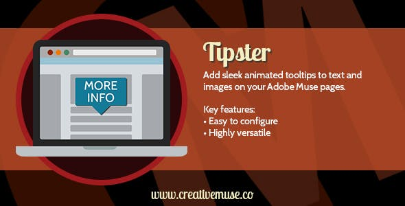 Tipster Widget for Adobe Muse