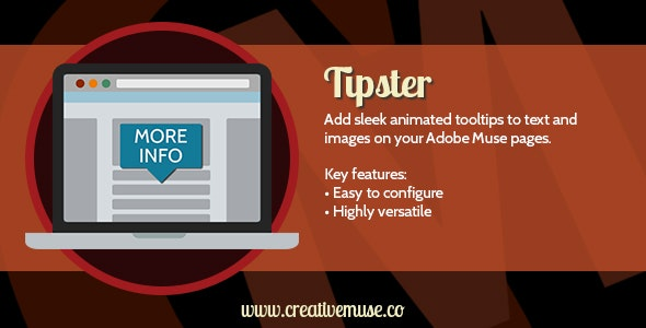 Tipster Widget for Adobe Muse - CodeCanyon Item for Sale