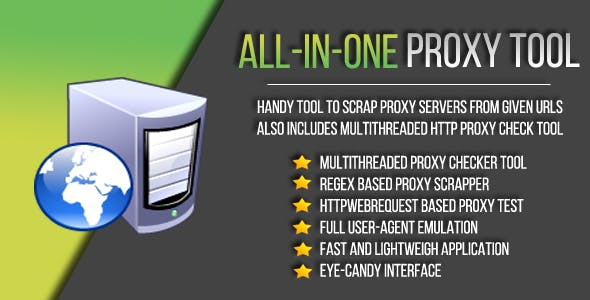 All In One Proxy Tool