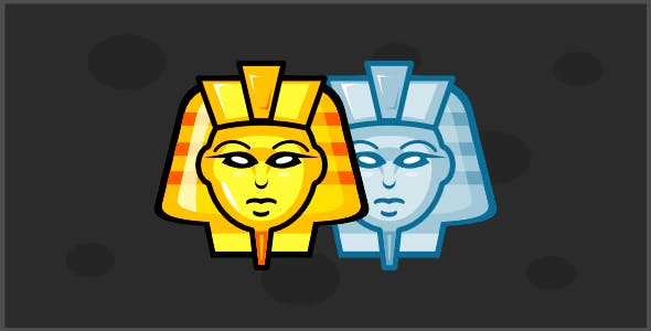 King Tut - Tic Tac Toe - Html5 game