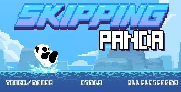 Skipping Panda - HTML5 game - CodeCanyon Item for Sale