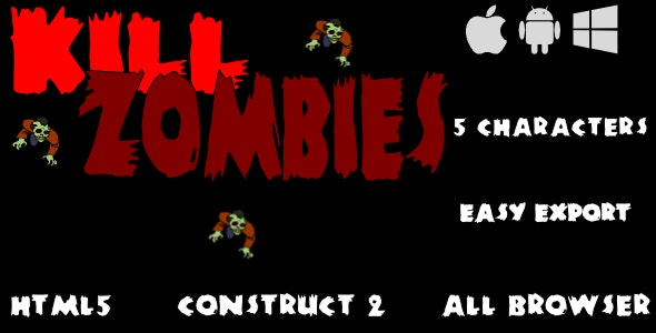 Kill Zombies - CodeCanyon Item for Sale