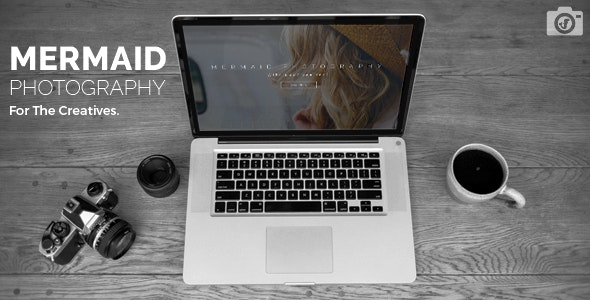 Create Photography Portfolio Website - Mermaid - CodeCanyon Item for Sale