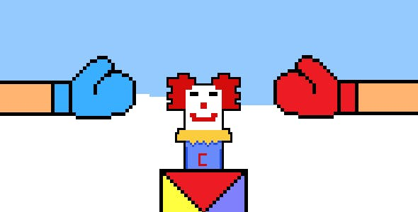 Clown Punch - Html5 Mobile Game - Ready Steady Punch