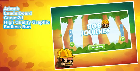 Bob Journey - Admob + Leaderboard