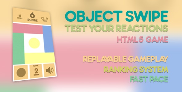 Object Swipe  - CodeCanyon Item for Sale