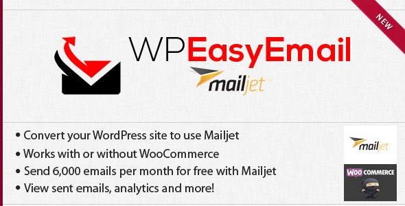 WPEasyEmail - Mailjet - CodeCanyon Item for Sale