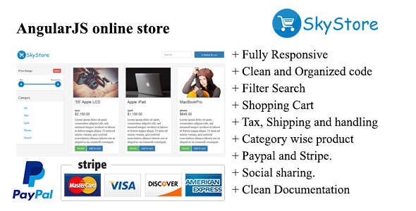 SkyStore-AngularJS online Store by themeZO | CodeCanyon