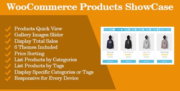 WooCommerce Products ShowCase