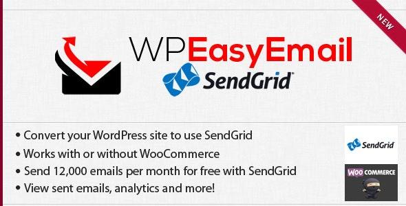 WPEasyEmail - SendGrid - CodeCanyon Item for Sale