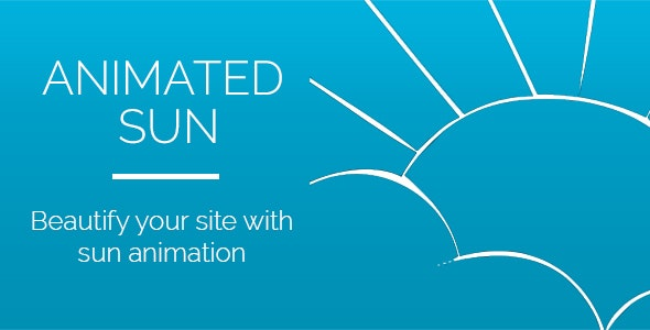 Animated Sun Widget for Adobe Muse - CodeCanyon Item for Sale