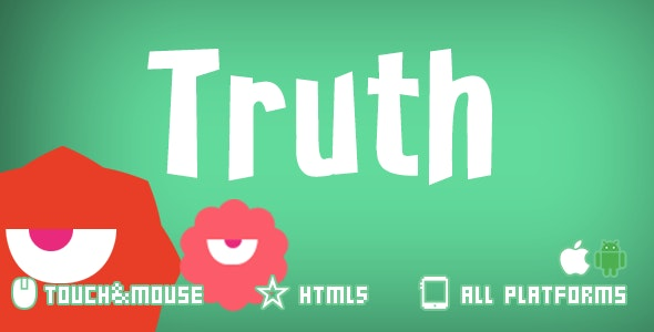 Truth-html5 construct2 game - CodeCanyon Item for Sale
