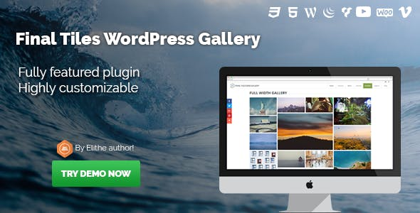 Final Tiles WordPress Gallery        Nulled