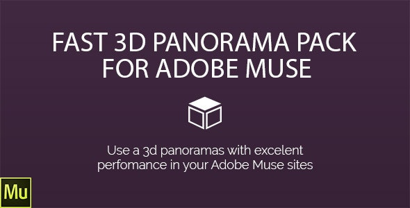 3D-Panorama Pack for Adobe Muse - CodeCanyon Item for Sale