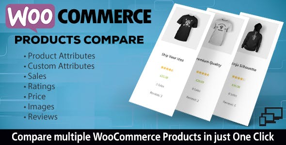 WooCommerce Responsive Products Compare