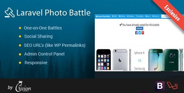Laravel Photo Battle Script - CodeCanyon Item for Sale
