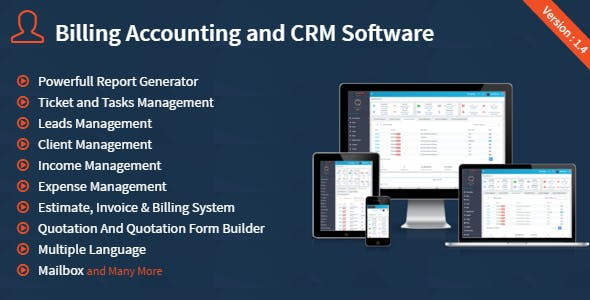 BACS - Billing Accounting And CRM Software