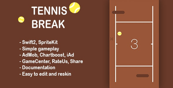 Tennis Break - CodeCanyon Item for Sale