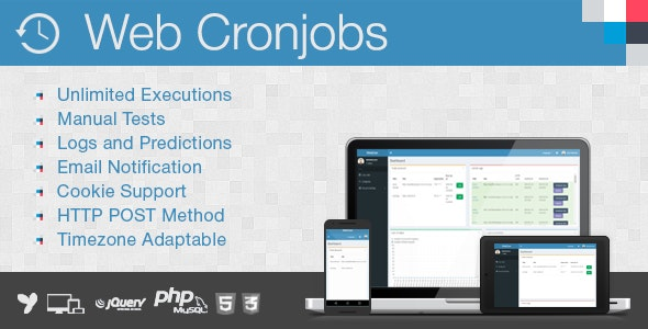 Web Cronjobs - CodeCanyon Item for Sale