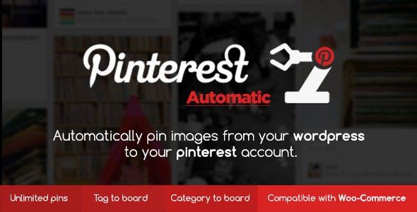 Pinterest Automatic Pin Wordpress Plugin        Nulled