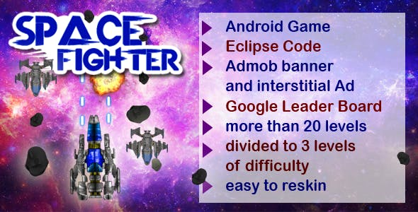 Space Fighter - Android Game