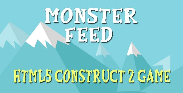 Feed Monster - HTML5 Mobile Game