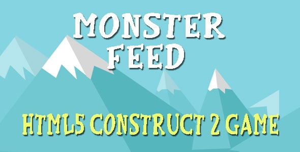 Feed Monster - HTML5 Mobile Game - CodeCanyon Item for Sale